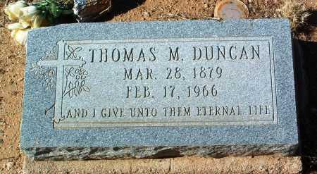 DUNCAN, THOMAS M. - Yavapai County, Arizona | THOMAS M. DUNCAN - Arizona Gravestone Photos