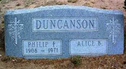 DUNCANSON, PHILIP F. - Yavapai County, Arizona | PHILIP F. DUNCANSON - Arizona Gravestone Photos