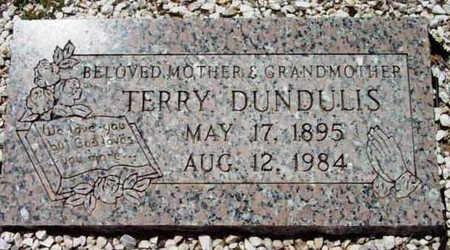 DUNDULIS, TEODORA (TERRY) - Yavapai County, Arizona | TEODORA (TERRY) DUNDULIS - Arizona Gravestone Photos