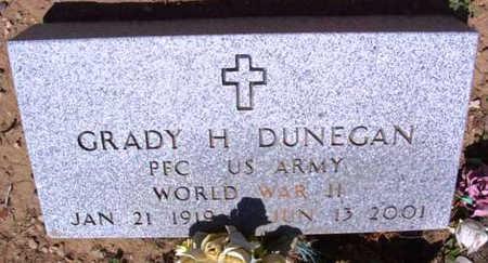DUNEGAN, GRADY H. - Yavapai County, Arizona   GRADY H. DUNEGAN - Arizona Gravestone Photos