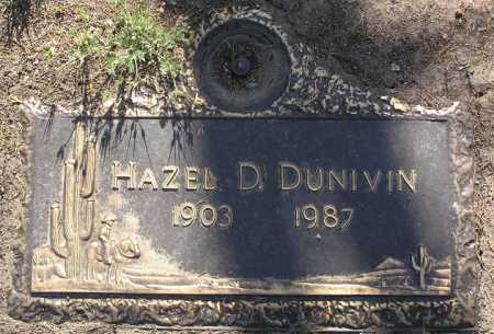 WRIGHT DUNIVIN, HAZEL D. - Yavapai County, Arizona | HAZEL D. WRIGHT DUNIVIN - Arizona Gravestone Photos