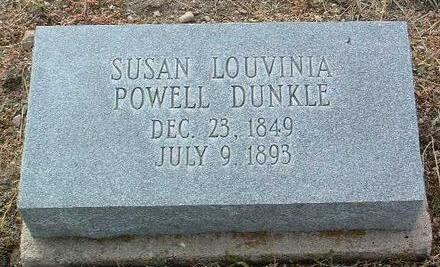 DUNKLE, SUSAN LOUVINIA - Yavapai County, Arizona | SUSAN LOUVINIA DUNKLE - Arizona Gravestone Photos