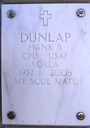 DUNLAP, HANK (HAROLD R.) - Yavapai County, Arizona   HANK (HAROLD R.) DUNLAP - Arizona Gravestone Photos