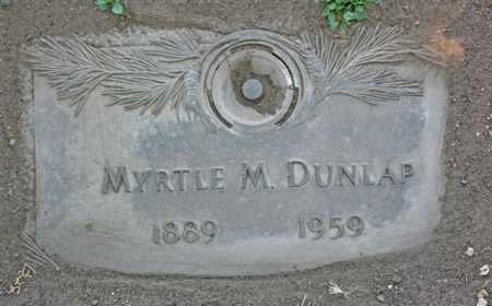 DUNLAP, MYRTLE MARY - Yavapai County, Arizona | MYRTLE MARY DUNLAP - Arizona Gravestone Photos