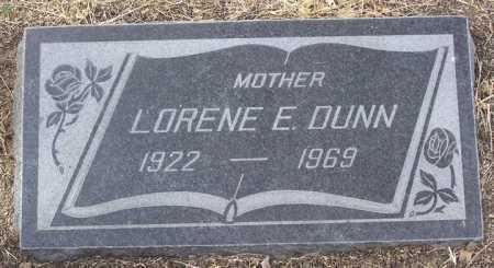 DUNN, LORENE E. - Yavapai County, Arizona | LORENE E. DUNN - Arizona Gravestone Photos
