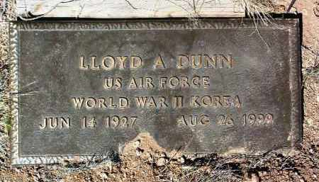 DUNN, LLOYD ALBERT - Yavapai County, Arizona | LLOYD ALBERT DUNN - Arizona Gravestone Photos