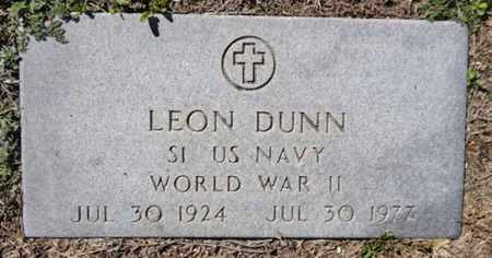 DUNN, LEON - Yavapai County, Arizona | LEON DUNN - Arizona Gravestone Photos