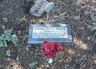 DUNNE, NORMA YOUNG - Yavapai County, Arizona | NORMA YOUNG DUNNE - Arizona Gravestone Photos
