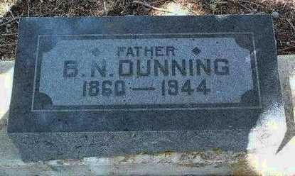 DUNNING, BENJAMIN N. - Yavapai County, Arizona | BENJAMIN N. DUNNING - Arizona Gravestone Photos