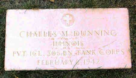 DUNNING, CHARLES  M. - Yavapai County, Arizona | CHARLES  M. DUNNING - Arizona Gravestone Photos