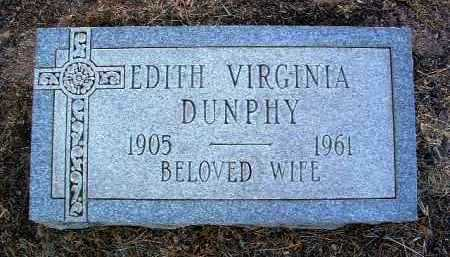 DUNPHY, EDITH VIRGINIA - Yavapai County, Arizona | EDITH VIRGINIA DUNPHY - Arizona Gravestone Photos
