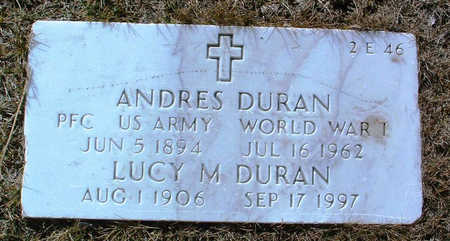 MADRID DURAN, LUCY M. - Yavapai County, Arizona   LUCY M. MADRID DURAN - Arizona Gravestone Photos