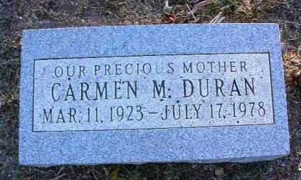 DURAN, CARMEN M. - Yavapai County, Arizona   CARMEN M. DURAN - Arizona Gravestone Photos