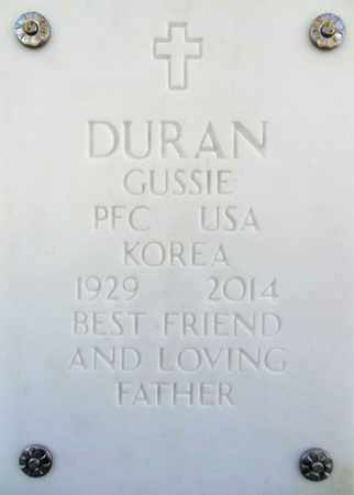 DURAN, GUSSIE - Yavapai County, Arizona | GUSSIE DURAN - Arizona Gravestone Photos