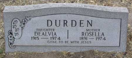 DURDEN, ROSELLA - Yavapai County, Arizona | ROSELLA DURDEN - Arizona Gravestone Photos