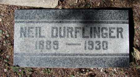 DURFLINGER, HERMAN NEIL - Yavapai County, Arizona | HERMAN NEIL DURFLINGER - Arizona Gravestone Photos