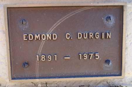 DURGIN, EDMOND C. - Yavapai County, Arizona | EDMOND C. DURGIN - Arizona Gravestone Photos