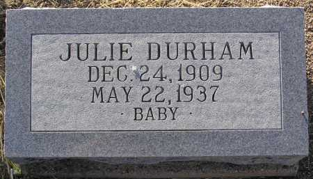 DURHAM, JULIE - Yavapai County, Arizona | JULIE DURHAM - Arizona Gravestone Photos