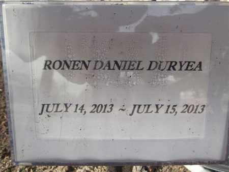 DURYEA, RONEN DANIEL - Yavapai County, Arizona   RONEN DANIEL DURYEA - Arizona Gravestone Photos