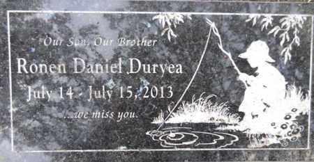 DURYEA, RONEN DANIEL - Yavapai County, Arizona | RONEN DANIEL DURYEA - Arizona Gravestone Photos