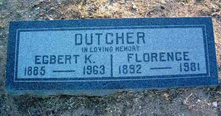 DUTCHER, FLORENCE A. - Yavapai County, Arizona | FLORENCE A. DUTCHER - Arizona Gravestone Photos