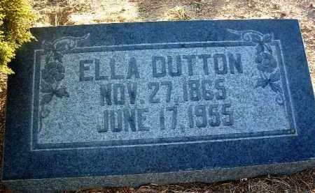 SPANGLER DUTTON, ELLA - Yavapai County, Arizona   ELLA SPANGLER DUTTON - Arizona Gravestone Photos