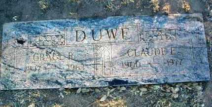 DUWE, CLAUDE E. - Yavapai County, Arizona | CLAUDE E. DUWE - Arizona Gravestone Photos