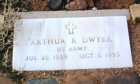 DWYER, ARTHUR R. - Yavapai County, Arizona   ARTHUR R. DWYER - Arizona Gravestone Photos