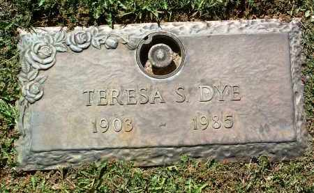 SLOSS DYE, TERESA J. S. - Yavapai County, Arizona   TERESA J. S. SLOSS DYE - Arizona Gravestone Photos