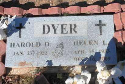 HINES DYER, HELEN LORINE - Yavapai County, Arizona | HELEN LORINE HINES DYER - Arizona Gravestone Photos