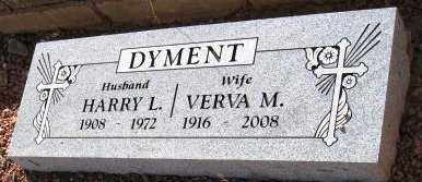 DYMENT, VERVA M. - Yavapai County, Arizona | VERVA M. DYMENT - Arizona Gravestone Photos