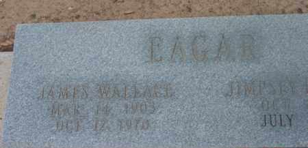 EAGAR, JAMES WALLACE - Yavapai County, Arizona | JAMES WALLACE EAGAR - Arizona Gravestone Photos