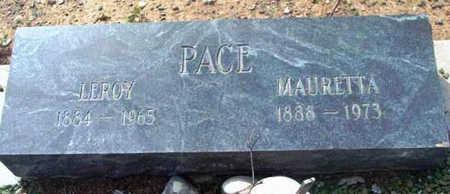 EAGER PACE, MAURETTA - Yavapai County, Arizona | MAURETTA EAGER PACE - Arizona Gravestone Photos