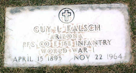 EALSCH, GUY  L. - Yavapai County, Arizona | GUY  L. EALSCH - Arizona Gravestone Photos