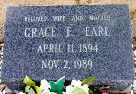 EARL, GRACE ELIZABETH - Yavapai County, Arizona | GRACE ELIZABETH EARL - Arizona Gravestone Photos