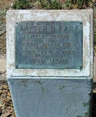 EARL, WALTER D. (JOHNNIE) - Yavapai County, Arizona | WALTER D. (JOHNNIE) EARL - Arizona Gravestone Photos