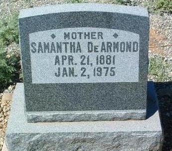 EARNEST DEARMOND, SAMANTHA - Yavapai County, Arizona | SAMANTHA EARNEST DEARMOND - Arizona Gravestone Photos
