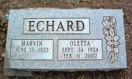 ECHARD, OLETTA - Yavapai County, Arizona | OLETTA ECHARD - Arizona Gravestone Photos