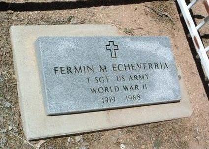 ECHEVERRIA, FERMIN M. - Yavapai County, Arizona   FERMIN M. ECHEVERRIA - Arizona Gravestone Photos
