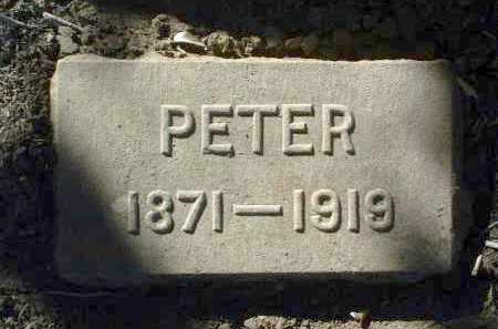 ECKBERG, PETER - Yavapai County, Arizona | PETER ECKBERG - Arizona Gravestone Photos
