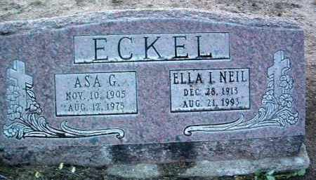 ECKEL, ASA GAIL - Yavapai County, Arizona   ASA GAIL ECKEL - Arizona Gravestone Photos