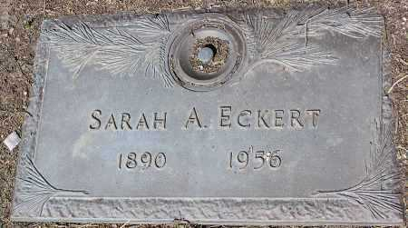 ECKERT, SARAH A. - Yavapai County, Arizona | SARAH A. ECKERT - Arizona Gravestone Photos