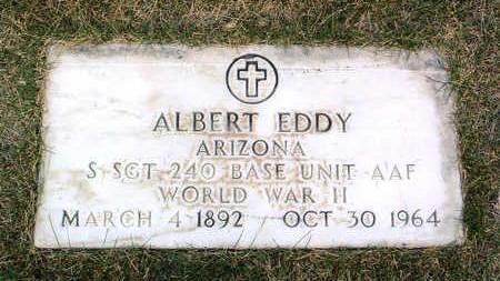 EDDY, ALBERT - Yavapai County, Arizona | ALBERT EDDY - Arizona Gravestone Photos