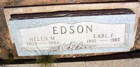 EDSON, EARL FREDERICK - Yavapai County, Arizona | EARL FREDERICK EDSON - Arizona Gravestone Photos