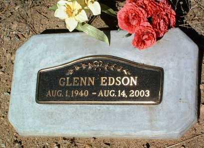 EDSON, GLENN - Yavapai County, Arizona | GLENN EDSON - Arizona Gravestone Photos