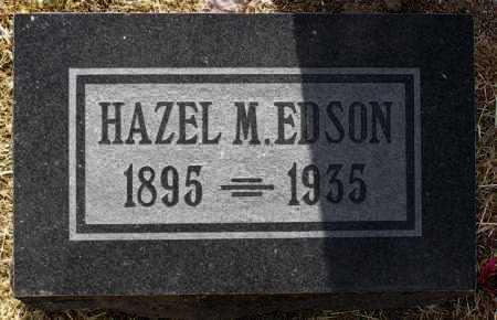 EDSON, HAZEL M. - Yavapai County, Arizona | HAZEL M. EDSON - Arizona Gravestone Photos
