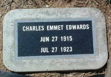 EDWARDS, CHARLES EMMET - Yavapai County, Arizona | CHARLES EMMET EDWARDS - Arizona Gravestone Photos