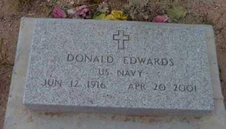 EDWARDS, DONALD - Yavapai County, Arizona | DONALD EDWARDS - Arizona Gravestone Photos