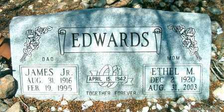 EDWARDS, ETHEL M. - Yavapai County, Arizona | ETHEL M. EDWARDS - Arizona Gravestone Photos