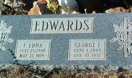 EDWARDS, FLORENCE EDNA - Yavapai County, Arizona | FLORENCE EDNA EDWARDS - Arizona Gravestone Photos